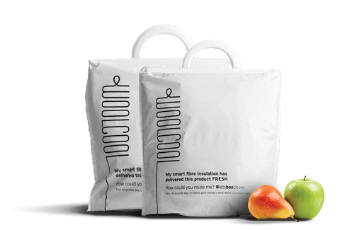 Woolcool Food Insulated Carrier Bags