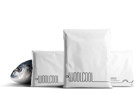 Woolcool Food Insulated Courier Envelopes