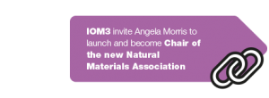 Angela Morris invited to chair Natural Materials Association