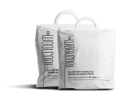 Woolcool Food Insulated Carrier Bags are an eco packaging innovation