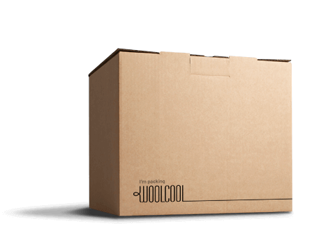 Woolcool's food courier box is a sustainable packaging solution.