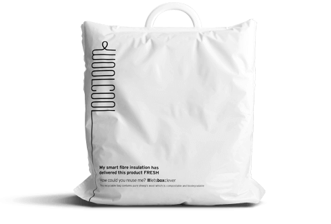 Woolcool Pharmaceutical Insulated Carrier Bags are a sustainable alternative for UK businesses