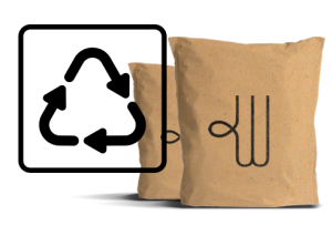 Woolcool's Insulated Paper Pouch