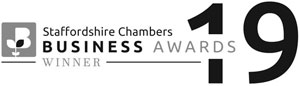Staffordshire Chambers Business Awards 2019: WINNER