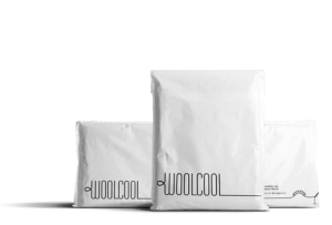 Woolcool insulated envelopes